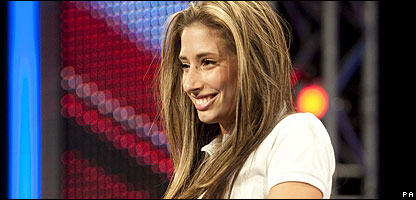 X Factor hopeful Stacey Solomon