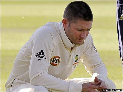 Australian player Michael Clarke reflects on England's victory.