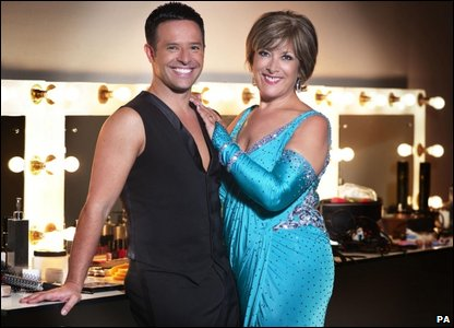 Lynda Bellingham and Darren Bennett