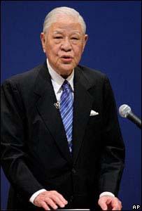 86歲的李登輝用日語嚴辭批評了日本