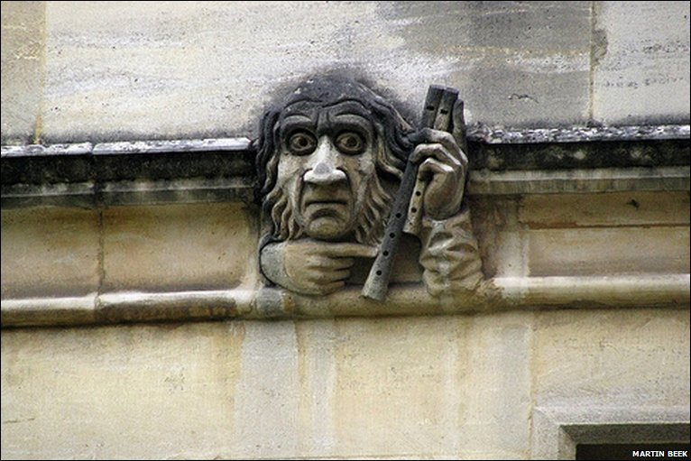 Bbc Oxford In Pictures Oxford S Grotesques