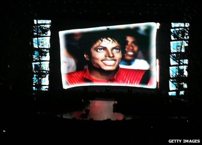"There were lots of tributes to Michael Jackson. Madonna gave a speech saying: ""it seems like a whole new generation of kids has discovered his genius""."