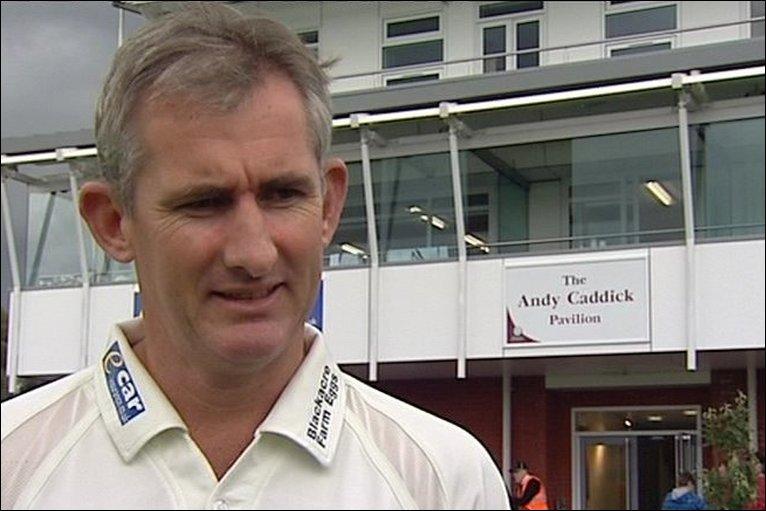 Bbc Sport Cricket Counties Somerset Andy Caddick S