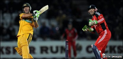 Ricky Ponting of Australia in bat