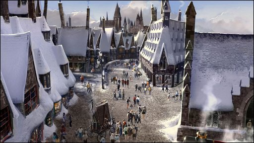 Hogsmeade High Street