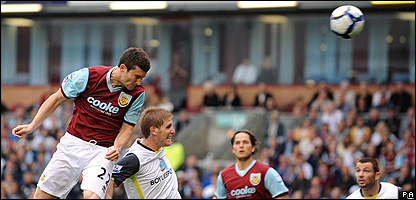 David Nugent scores for Burnley