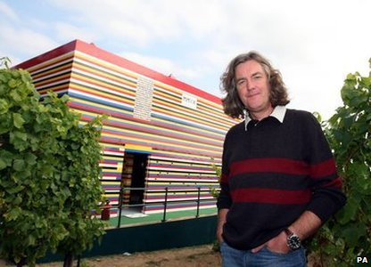 James May and Lego house