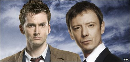 David Tennant and John Simm