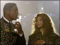Jermaine and La Toya Jackson