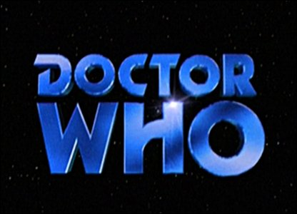 Doctor Who logo from 1996