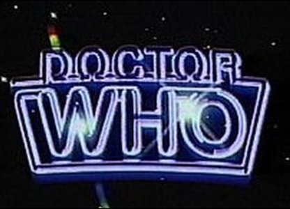 Doctor Who logo from 1986