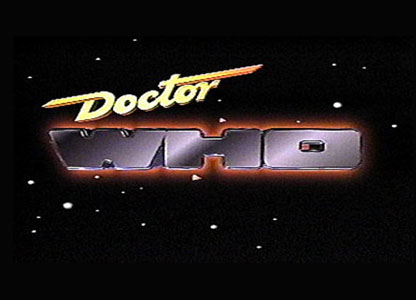Doctor Who logo from 1989