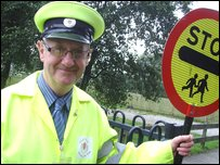 Peter the lollipop man