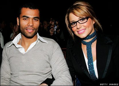 Cheryl Cole and her husband Ashley Cole in 2006
