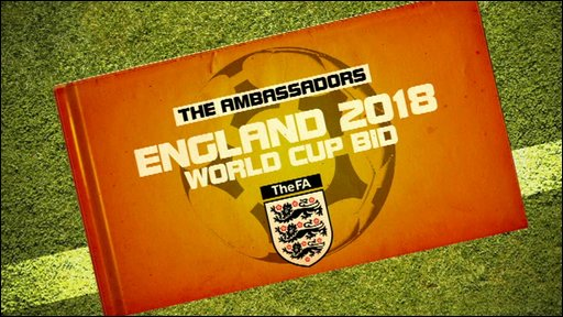 England world cup bid