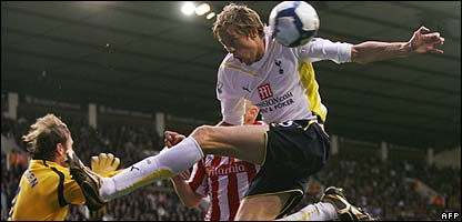 Peter Crouch in action