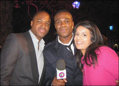 Ore and Sonali meet Taio Cruz