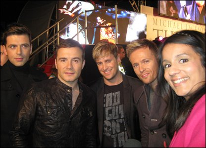 Sonali and Westlife