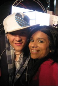 Sonali and George Sampson