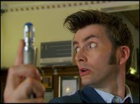 David Tennant as Dr Who