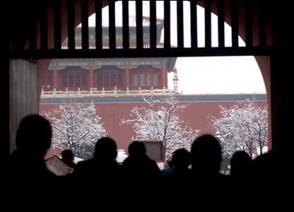 People in the Forbidden City