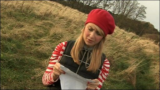 Hayley searches for a mystery town