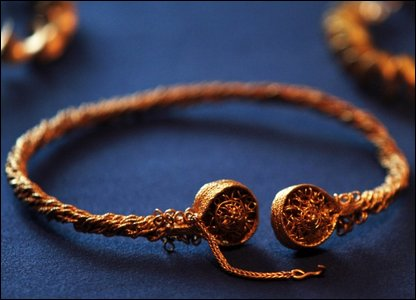 Close up of Torc