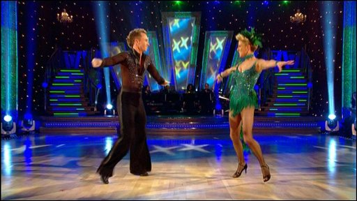 Strictly dancers take to the floor