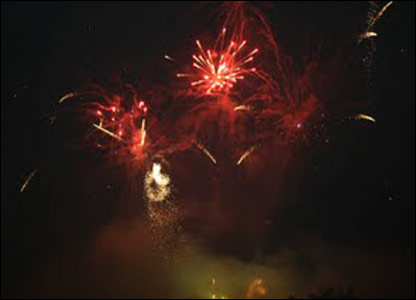 Shobna's fireworks photo from Keighley, West Yorkshire