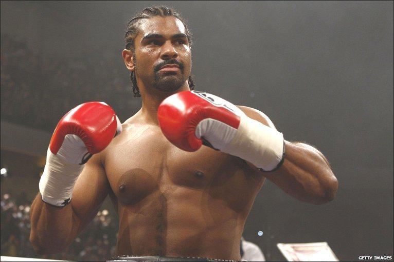 BBC SPORT | Boxing | Haye v Valuev photos