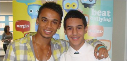 Aston JLS and Luciano