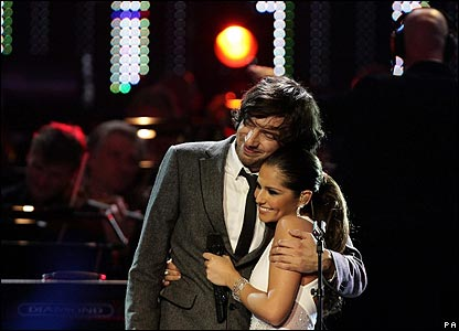 Gary Lightbody and Cheryl Cole