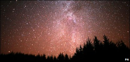 Night sky in Galloway Forest Park