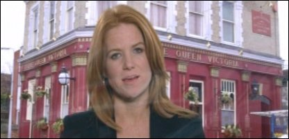 Actress Patsy Palmer was bullied for having ginger hair