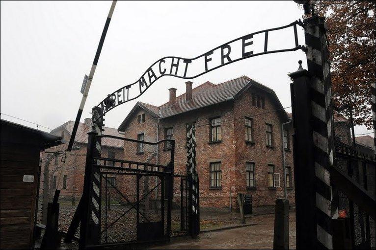 The gates of Auschwitz