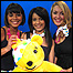 Leah, Sonali, Hayley and Pudsey