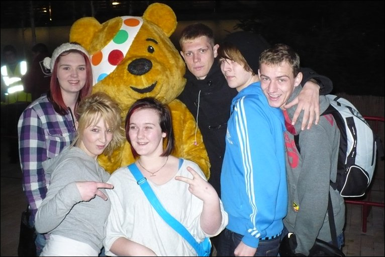 Children In Need Pudsey Bear. For Children in Need 2009,