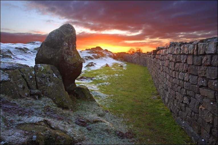 BBC In Pictures The Northumberland Landscape