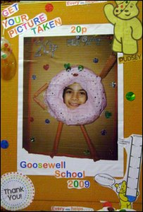Your picture in the doughnut