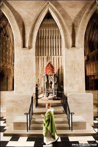 St Albans Cathedral Building Works