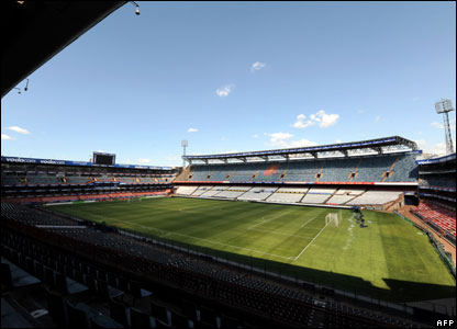 The Loftus Versfeld Stadium