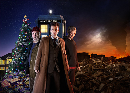 CBBC - Newsround - In pictures: Doctor Who Christmas Special!
