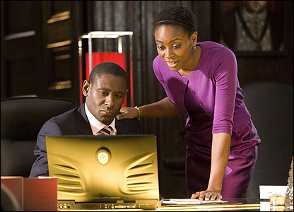 David Harewood and Tracy Ifeachor