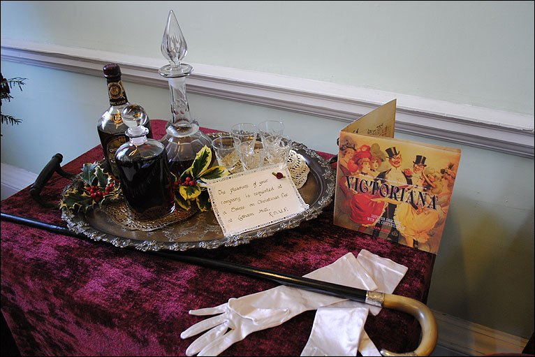 ... Before Christmas with an invite to a Victorian style Christmas Eve