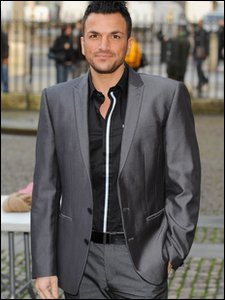 Peter Andre arriving at the Woman's Own Children of Courage Awards in London