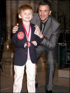 Jacobi and Peter Andre