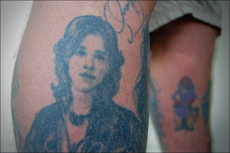 fan Steve has collected 11 signatures to go with his 24 portrait tattoos