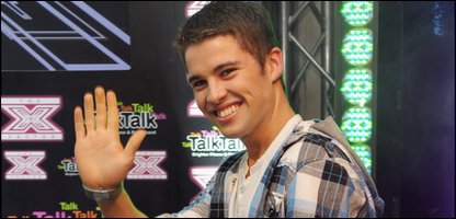 Joe McElderry, One of the X Factor 2009 finalists