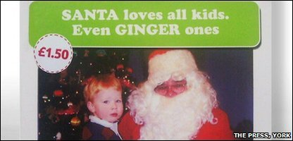 Tesco's ginger card