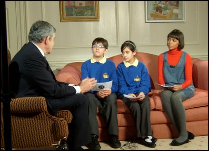 Interviewing Gordon Brown